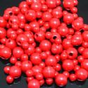 Beads, Acrylic, Burgandy, Designer shapes, 12mm x 8mm x 8mm, 11g, 25 Beads, (SLZ0052)